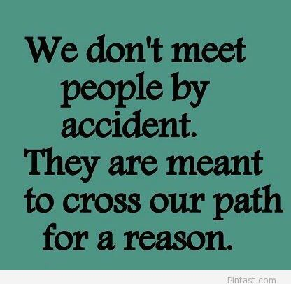 you meet many people in your life quote