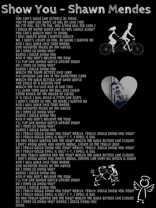 Shawn Mendes Lyric Quotes. QuotesGram