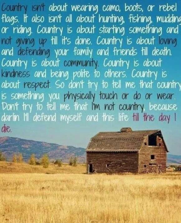 Quotes And Sayings About Life: Country Life Quotes And Sayings. QuotesGram