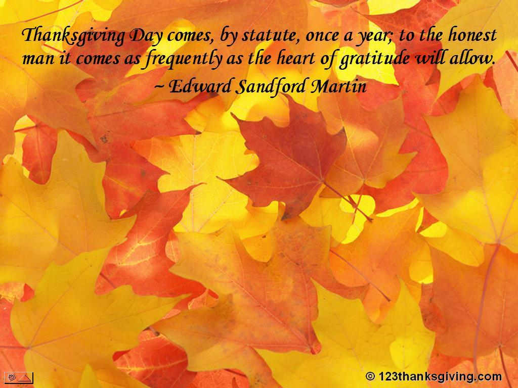 Beautiful Thanksgiving Quotes And Sayings Quotesgram