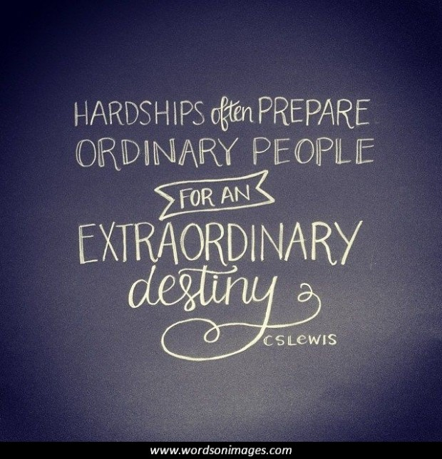 Inspirational Quotes Destiny: Cs Lewis Quotes About Perseverance. QuotesGram