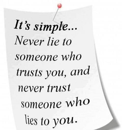 The you and is know truth when quotes lying someone 10 Absolute