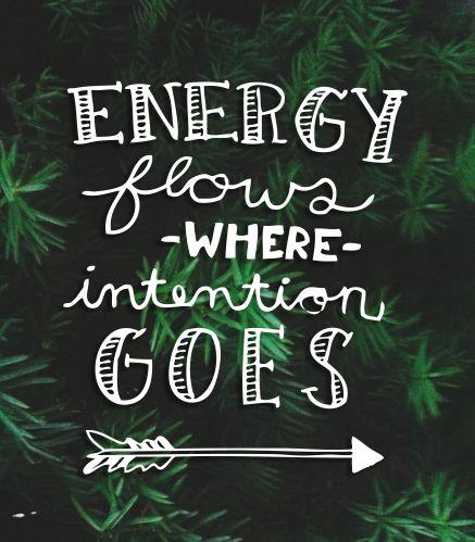 Positive Intention Quotes Quotesgram