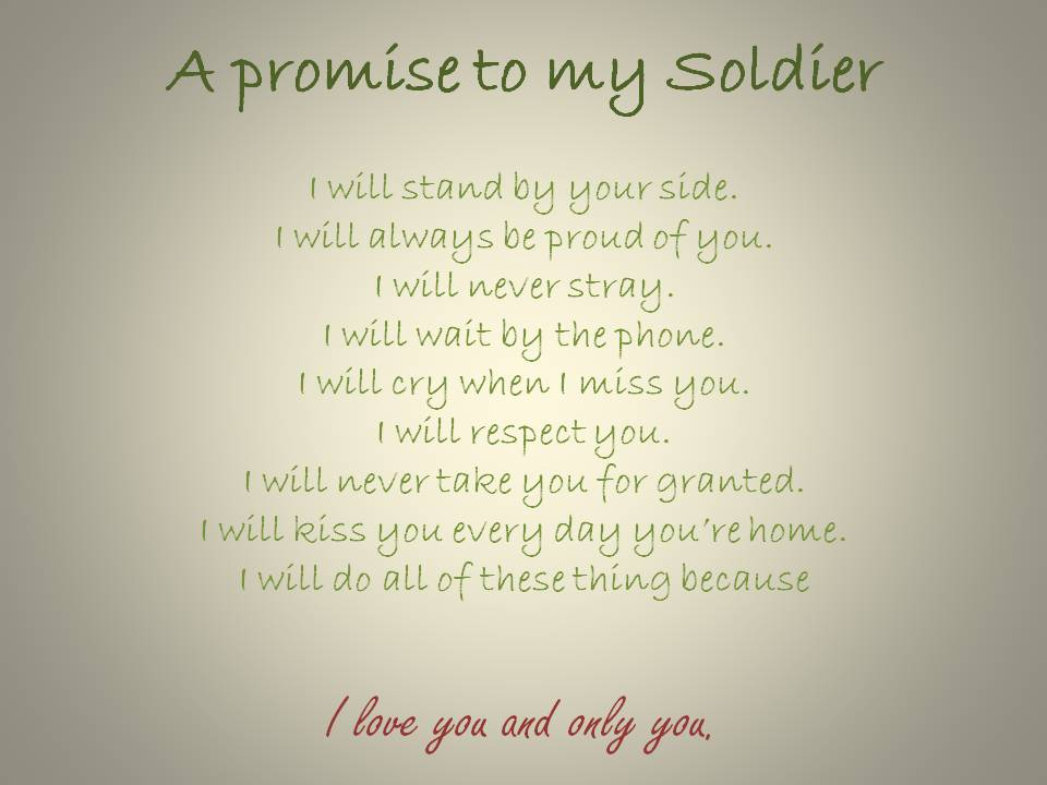 Missing My Soldier Quotes. QuotesGram