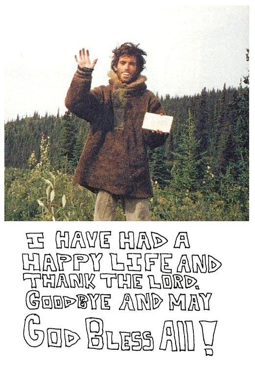 chris mccandless essay into wild Into the wild themes from litcharts an extended personal essay in which thoreau documents chris mccandless's reinvention into alexander supertramp is.