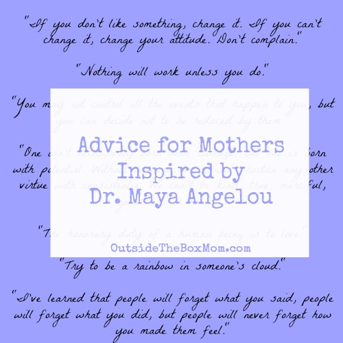 Maya Angelou Quotes On Motherhood. QuotesGram