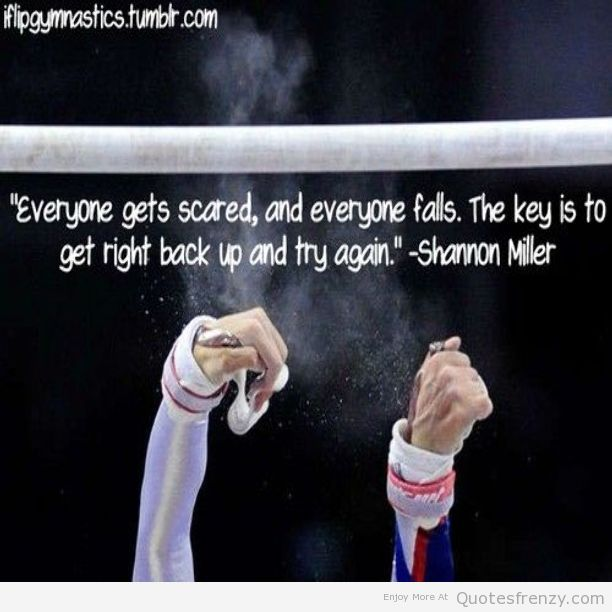 Short Gymnastics Quotes And Sayings: Famous Gymnastics Quotes. QuotesGram