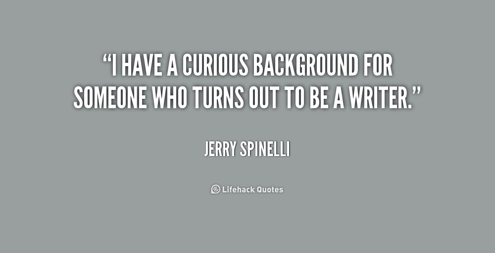 Jerry Spinelli Quotes. QuotesGram