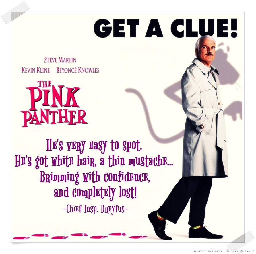 Pink Panther Funny Quotes. QuotesGram - photo#32