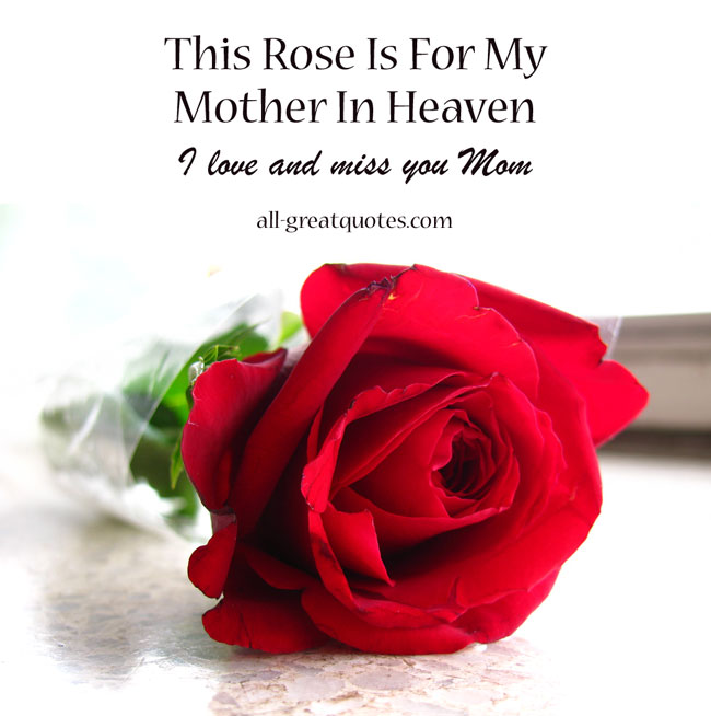 Sad I Miss You Quotes For Friends: My Mother In Heaven Quotes. QuotesGram