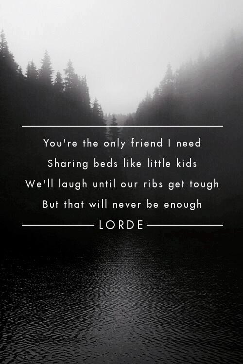 Lorde Quotes Inspirational. QuotesGram