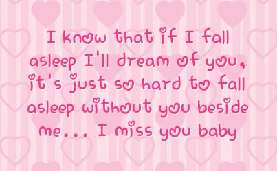 i miss you baby quotes quotesgram