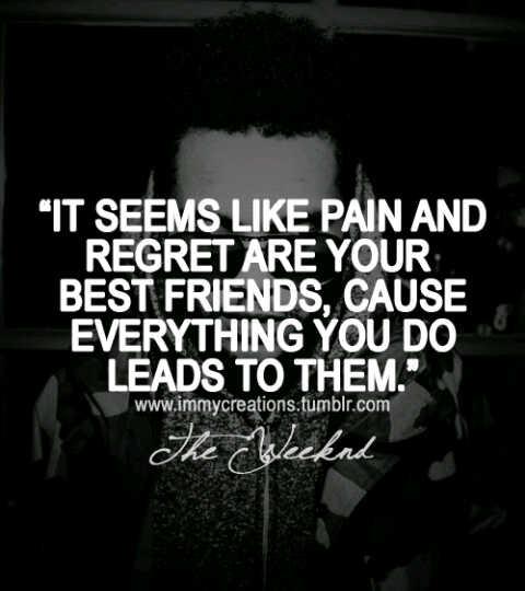 Sad Quotes Black And White Quotesgram: The Weeknd Sad Quotes. QuotesGram