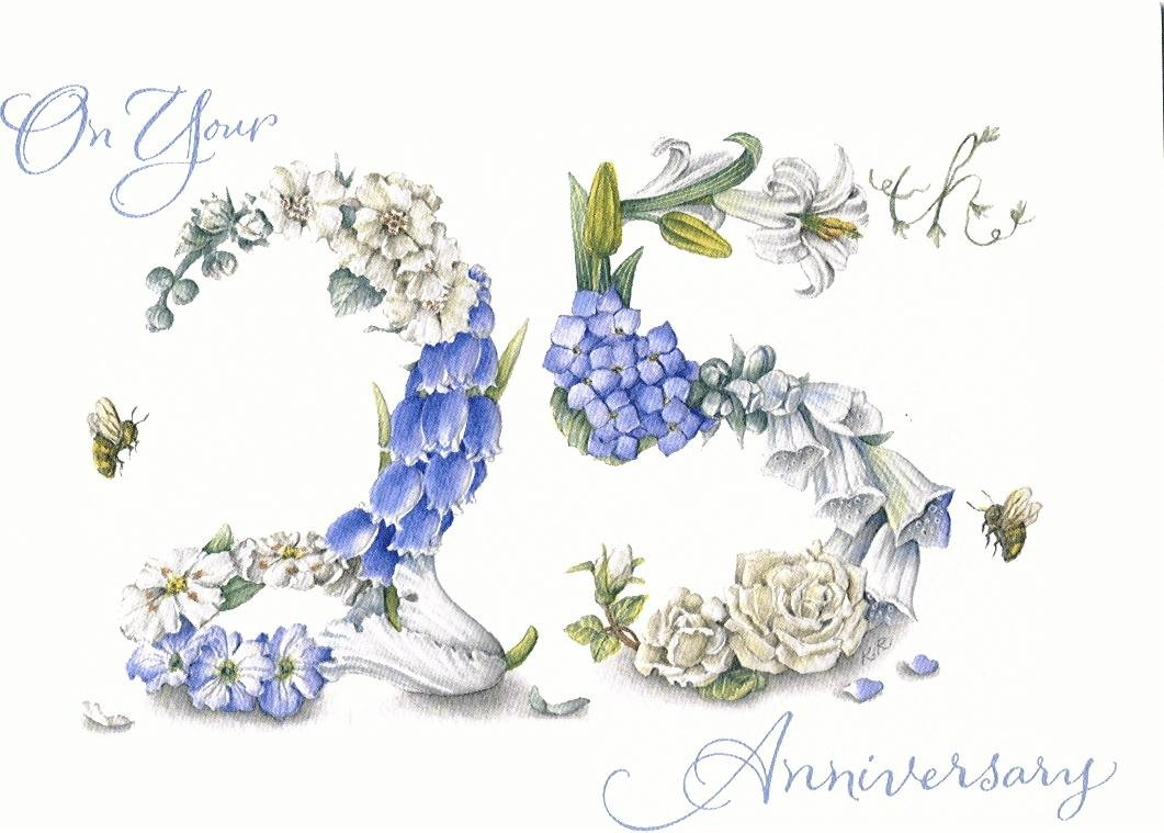 25th Wedding Anniversary Quotes Happy. QuotesGram