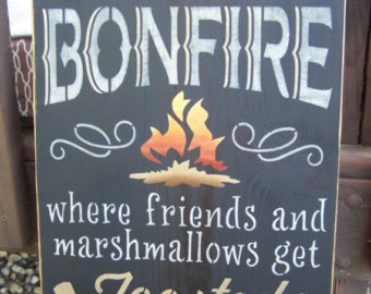Friendship Quotes About Bonfires Quotesgram