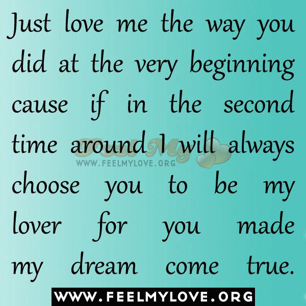 Love Finds You Quote: Second Time Around Quotes Love. QuotesGram