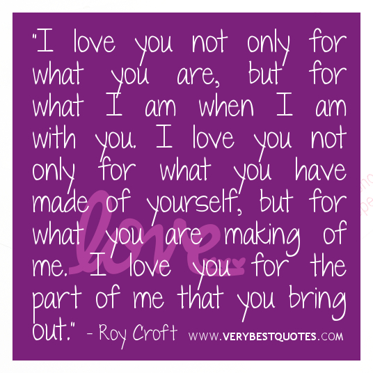 Sweet Quotes For Loved Ones