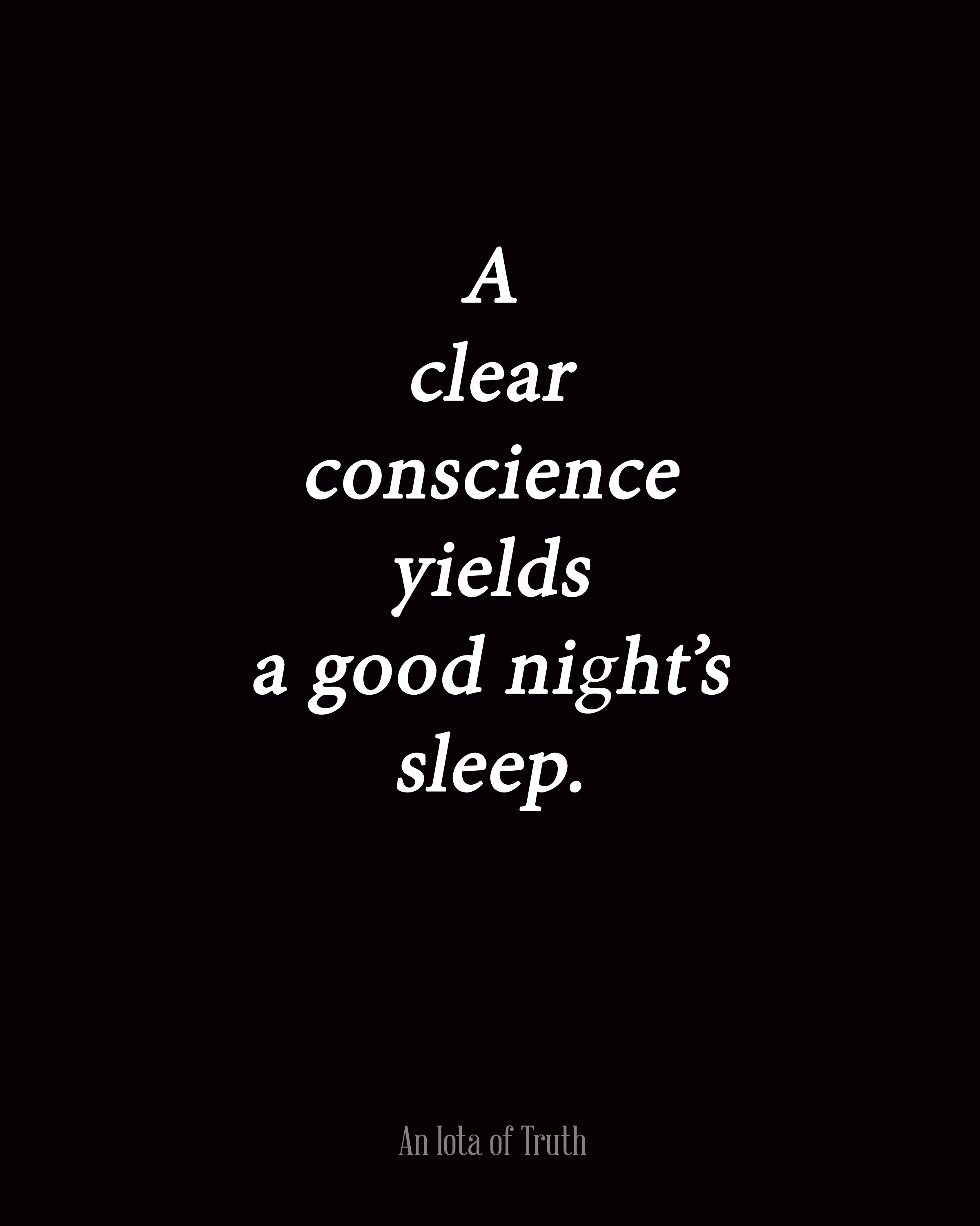 Quotes About Love: Good Conscience Quotes. QuotesGram