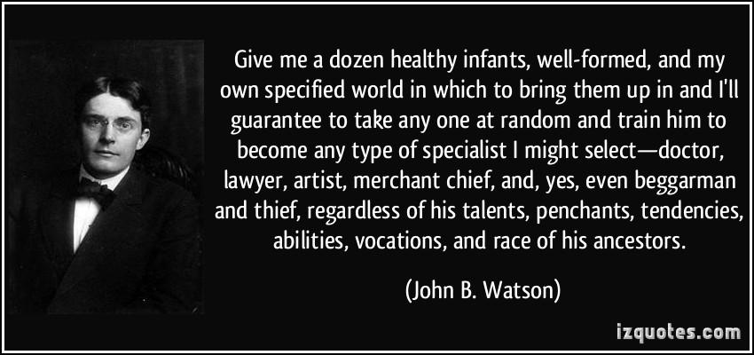 Biography of john b watson essay