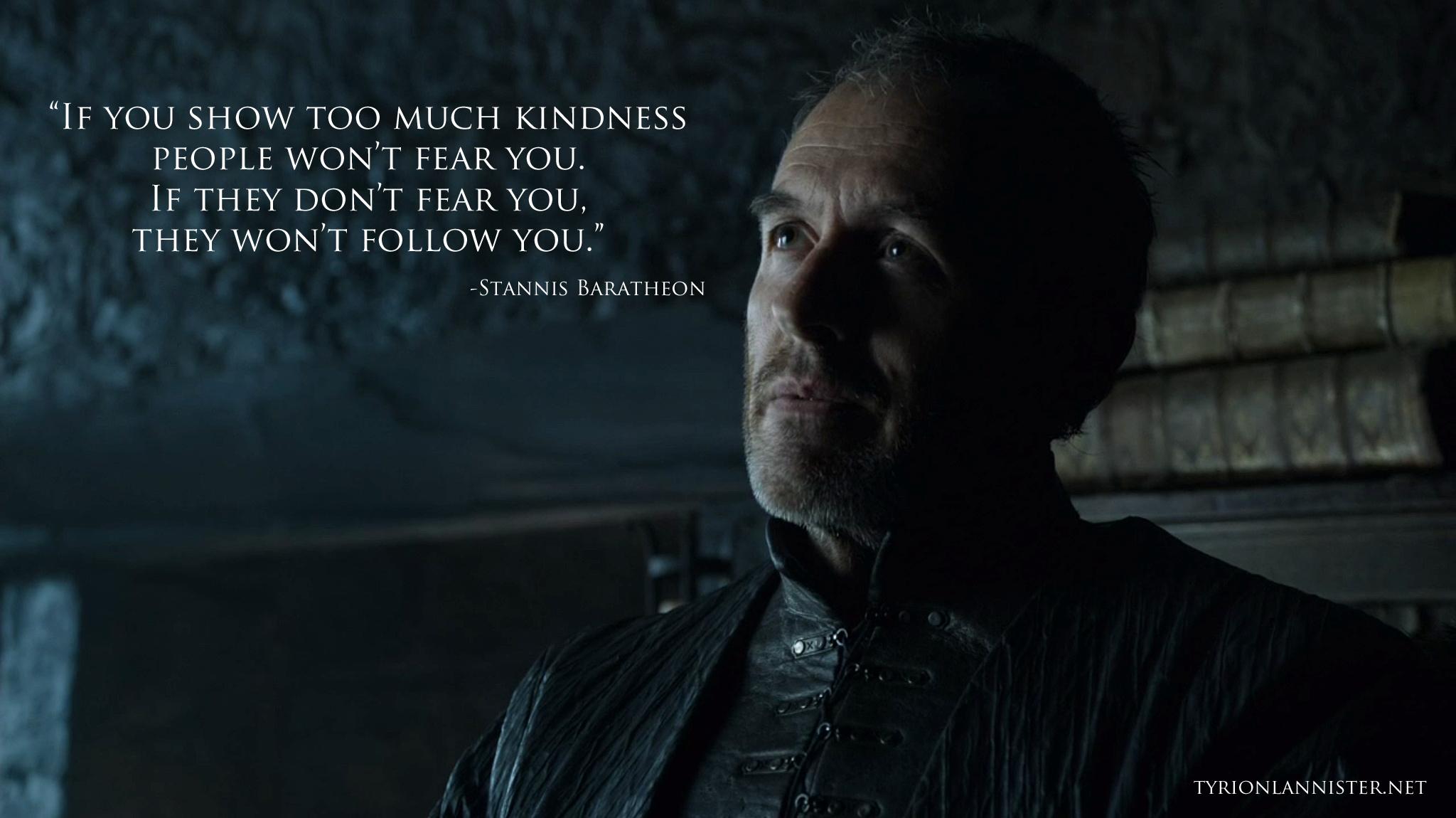 Stannis Baratheon Quot...