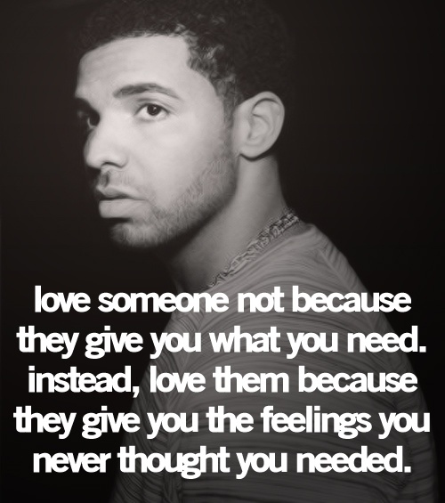 Drakes Quote: Drake Quotes About Feelings. QuotesGram
