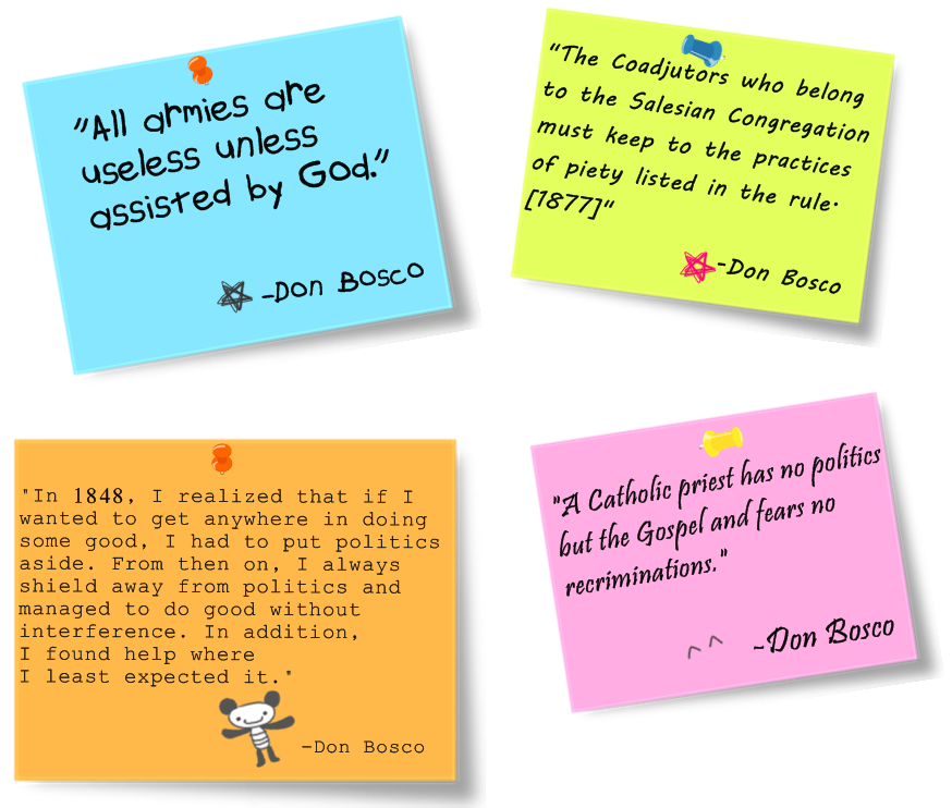St John Bosco Quotes Education: Quotes From Don Bosco. QuotesGram