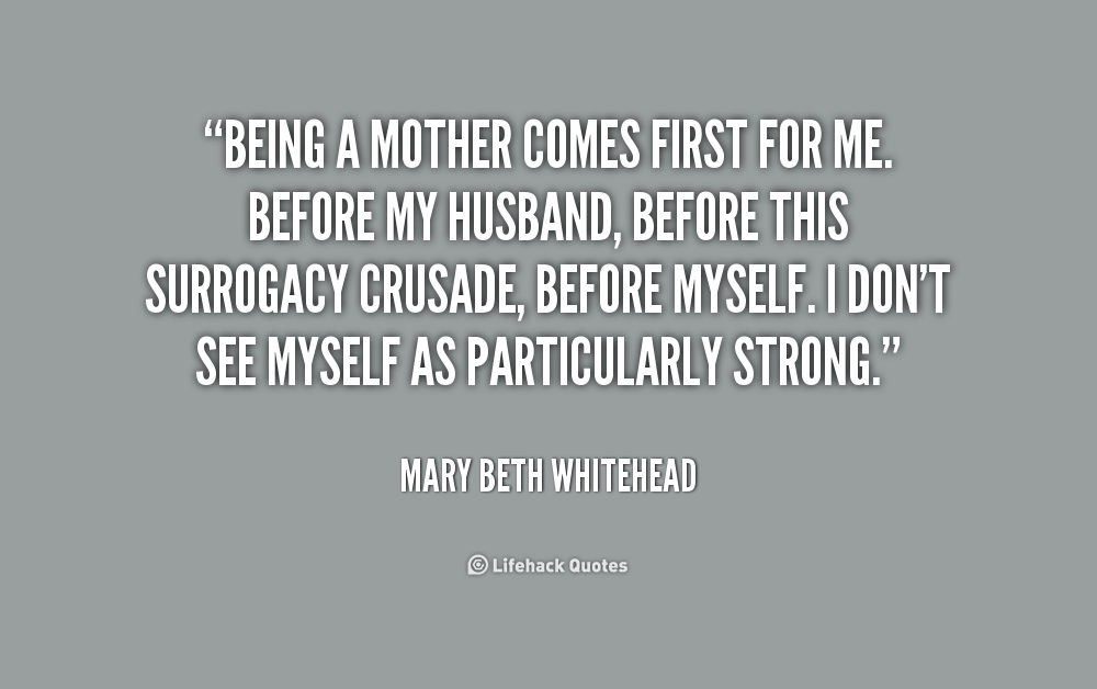Quotes About Becoming A Mother. QuotesGram