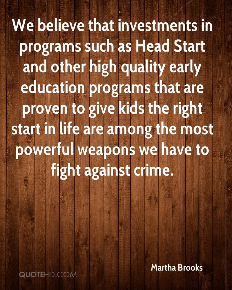 Head Start Quotes. QuotesGram