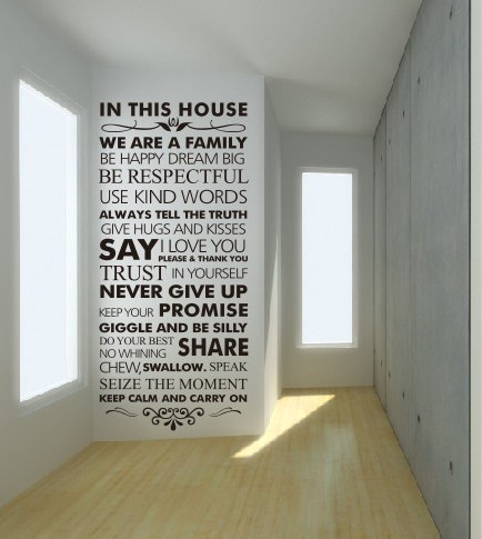 Family Wall Quotes Inspirational. QuotesGram