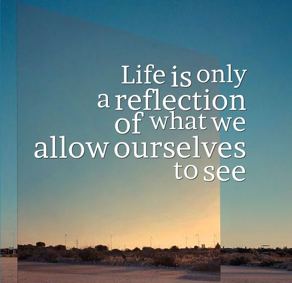 reflection of life essay