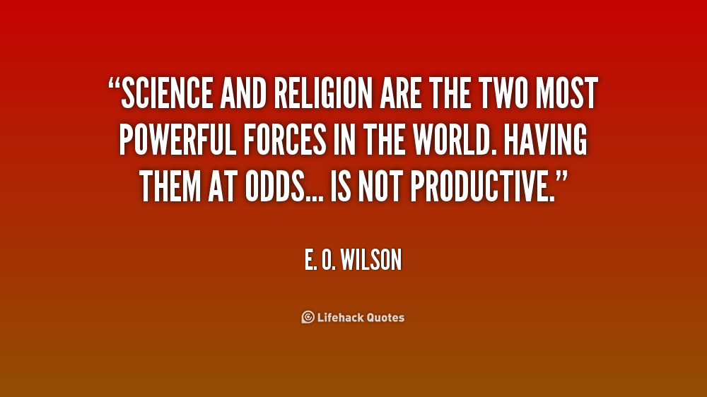 Science And Religion Quotes. QuotesGram
