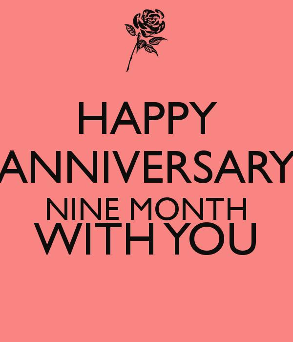 Anniversary Quotes Quotesgram: Cute 9 Month Anniversary Quotes. QuotesGram