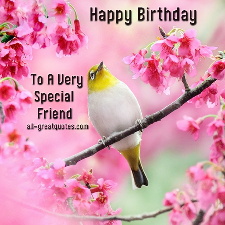 Birthday Quotes Funny Best Friend Quotesgram: Special Friend Birthday Quotes. QuotesGram