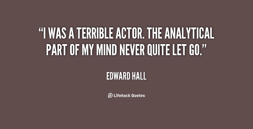 Edward T Hall Quotes: Analytical Quotes. QuotesGram