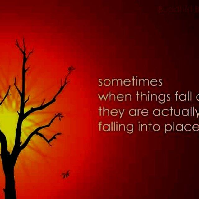 Sometimes Things Have To Fall Apart Quote: Things Fall Apart Quotes. QuotesGram