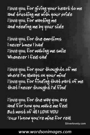 For Him Meaningful Love Quotes. QuotesGram