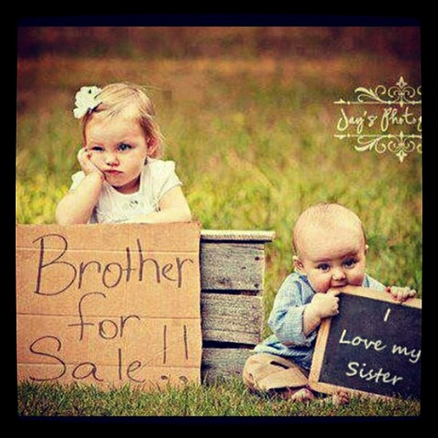 Funny Quotes About Siblings Quotesgram