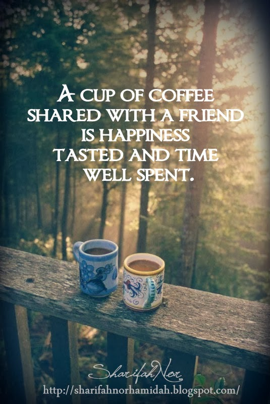 Friends Having Coffee Quotes Quotesgram