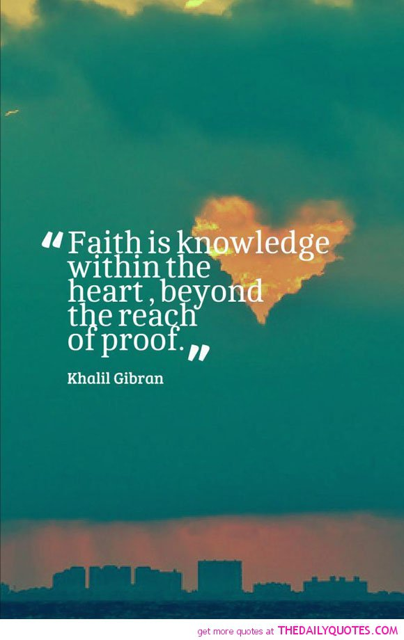 Khalil Gibran Famous Quotes On Faith QuotesGram