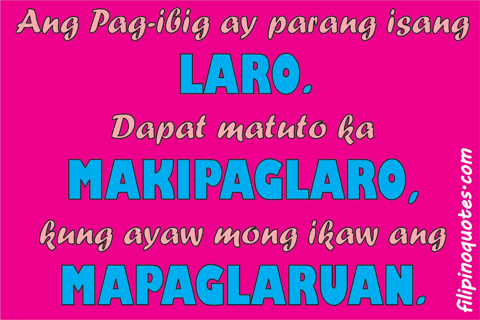 Tagalog Inspirational Quotes From Proverbs Quotesgram