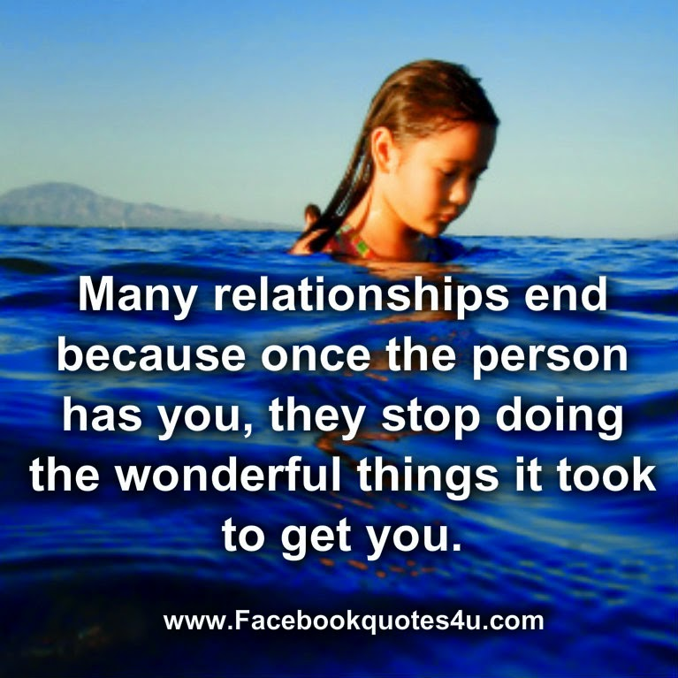 Facebook Quotes About Relationships Ending. QuotesGram