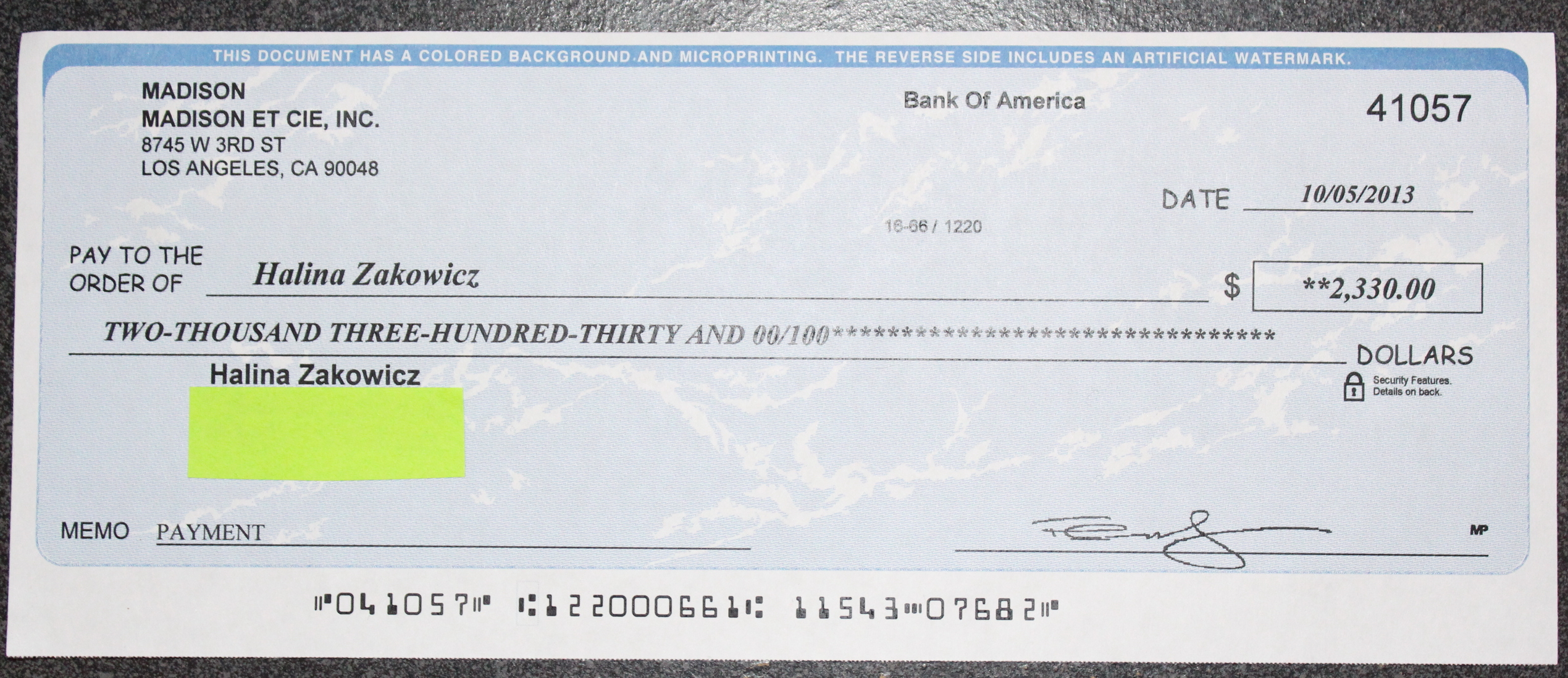 Image Collection How To Write A Check Rbc Bank - All Can Download ...