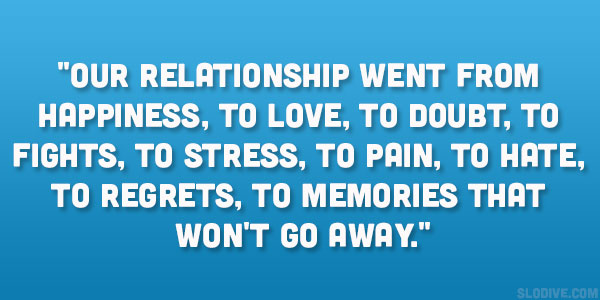having doubts in relationship quotes