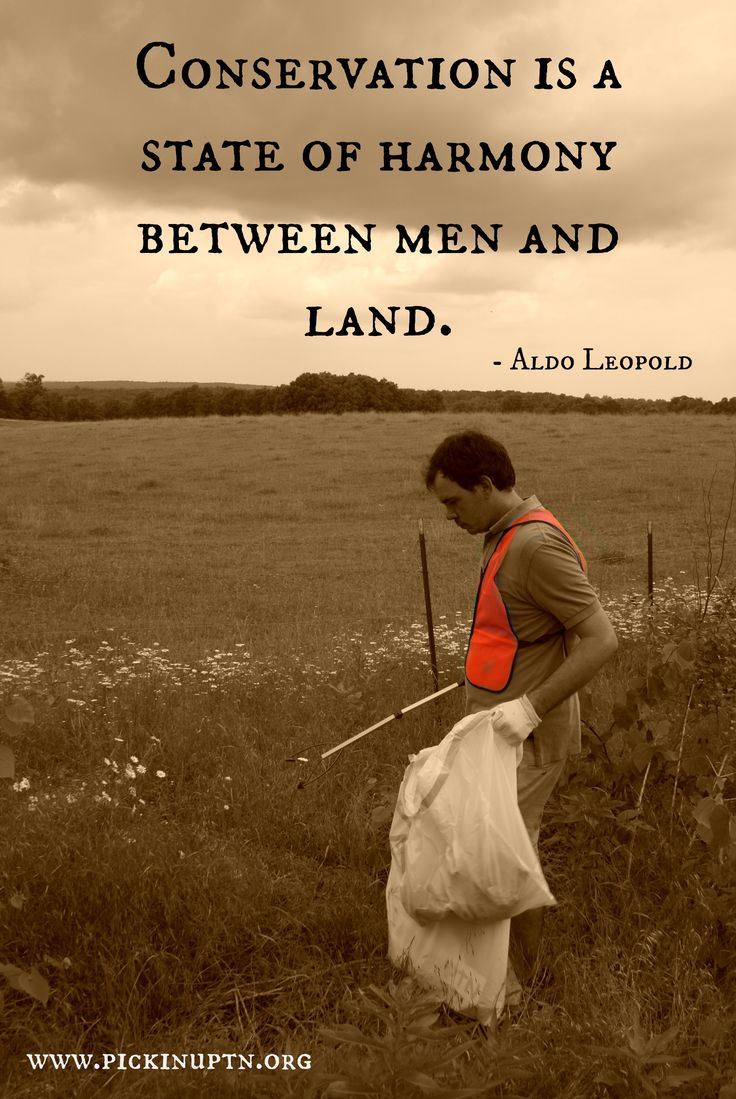 Quotes About Land Conservation Quotesgram