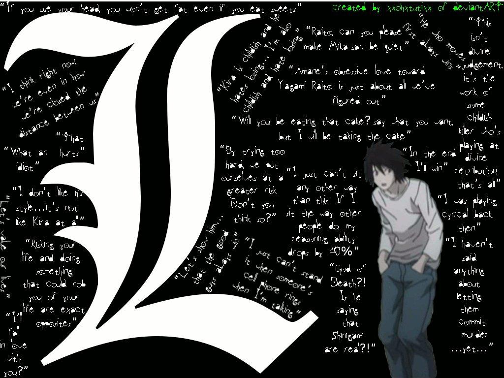 Death Note L Quotes Quotesgram