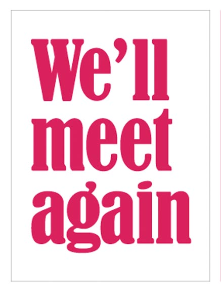 well meet again online Catch the season finale of we'll meet again • pbs with ann curry tonight on your pbs station at 8/7c or on facebook watch at 8pm est #meetagainpbs.