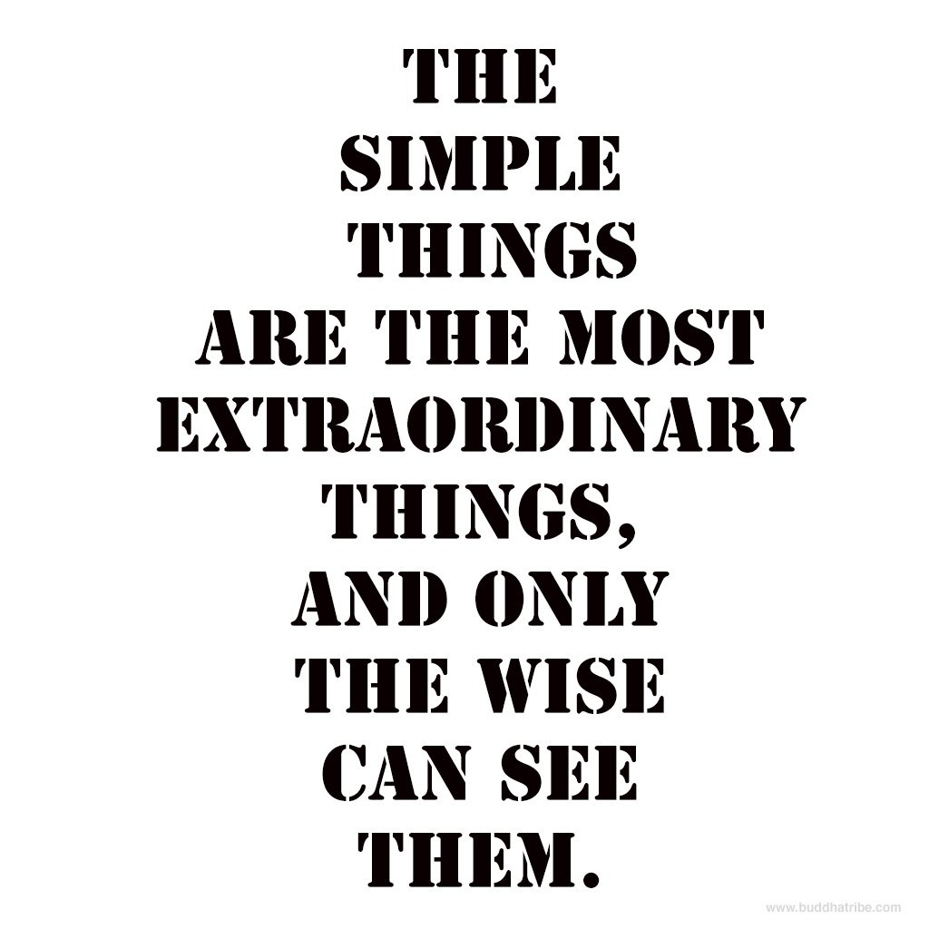 Quotes About Simple Life Simplicity: Simple Things Quotes. QuotesGram