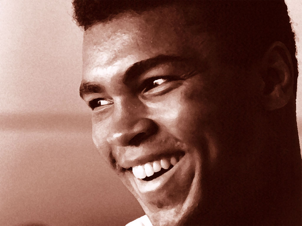 And in this corner cassius clay