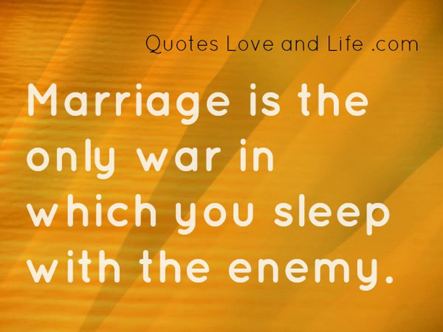 Quotes About Love And Marriage Funny