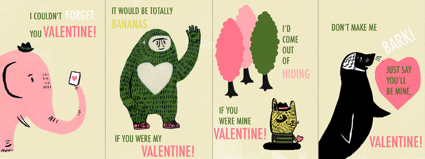 Cute Animal Valentine Puns
